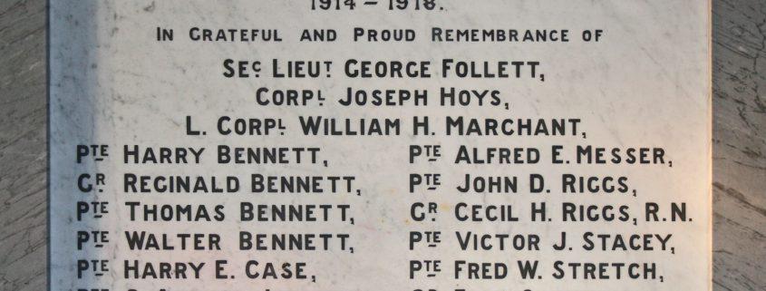 Berwick St John War Memorial 02