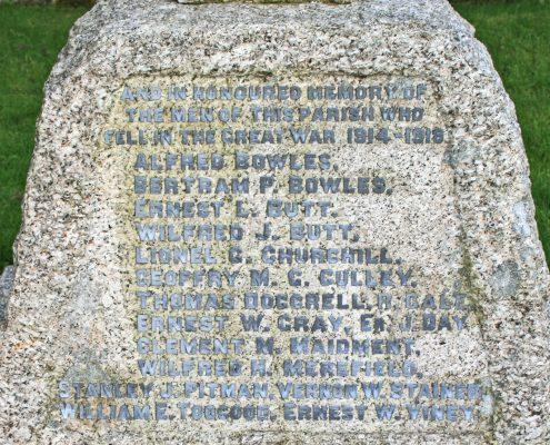 Semley War Memorial 03