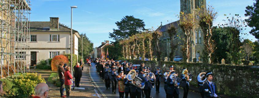 Shaftesbury Remembrance Sunday 2016