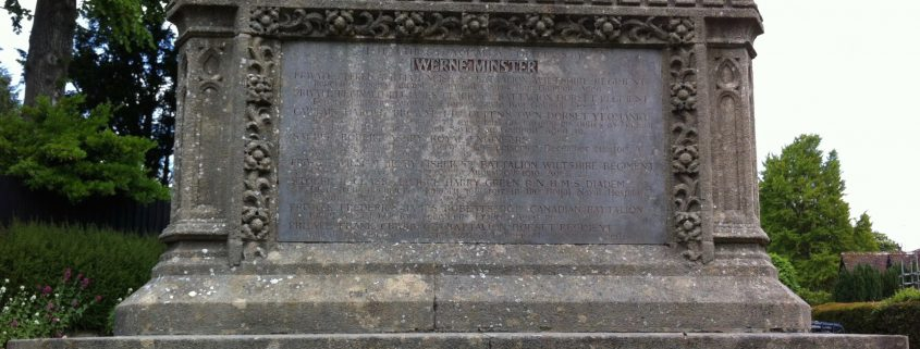 Iwerne Minster War Memorial 4