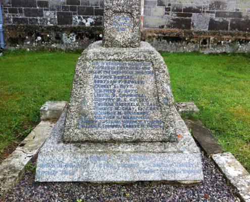 Semley War Memorial 3