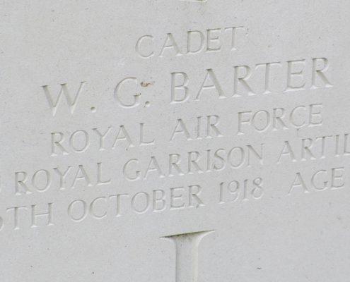 William George Barter headstone 2