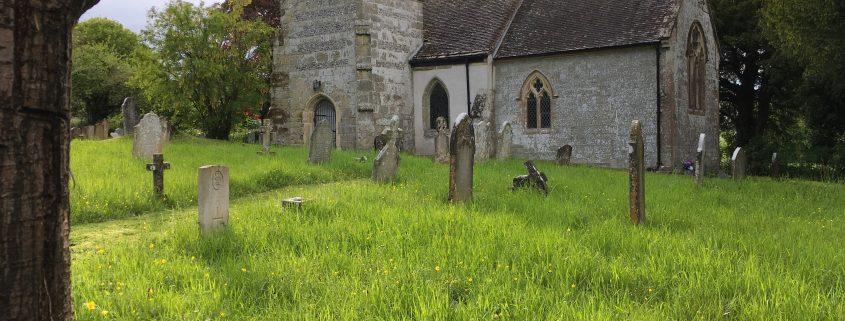 Farnham churchyard