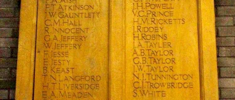 Shaftesbury Grammar School War Memorial