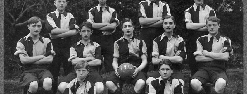 1914 Shaftesbury Grammar School Football Team