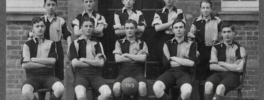 1913 Shaftesbury Grammar School Football Team