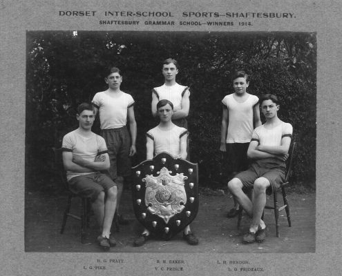 1914 Shaftesbury Grammar School Athletics Team
