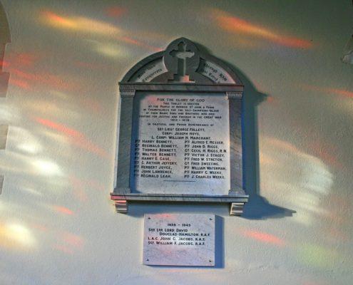 Berwick St John War Memorial 03