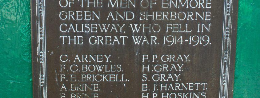 Enmore Green War Memorial 02