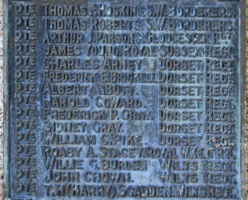 Motcombe War Memorial 03