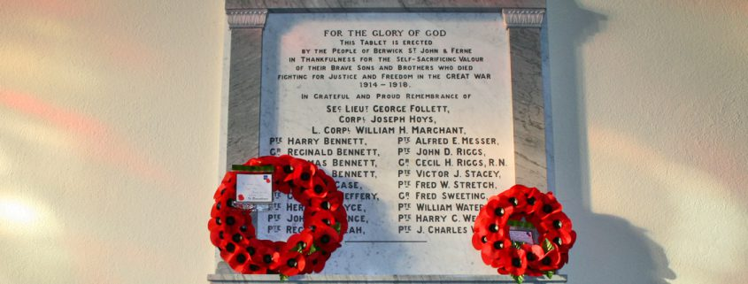 Berwick St John War Memorial