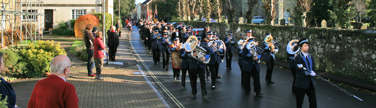 Shaftesbury Remembrance Sunday 2016