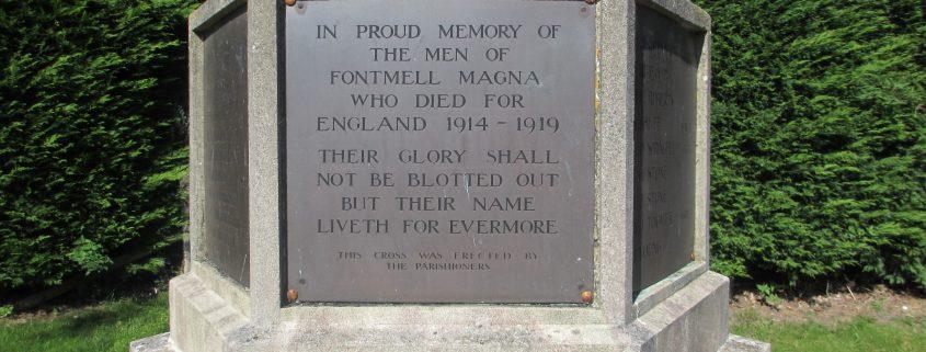 Fontmell Magna War Memorial 4
