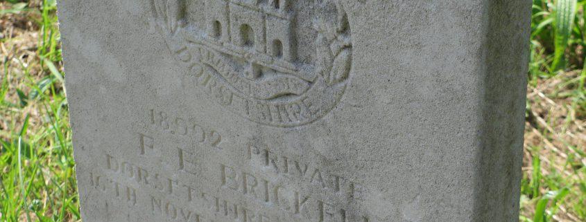 Frederick Eli Brickell headstone 02