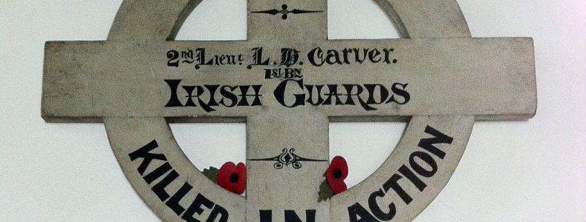 Lionel Henry Carver cross