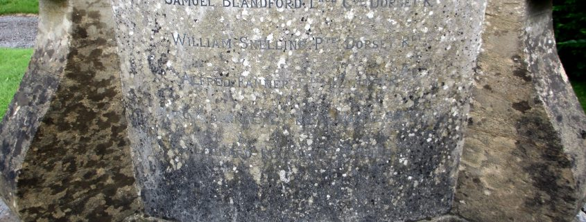 Names on Ludwell War Memorial 3