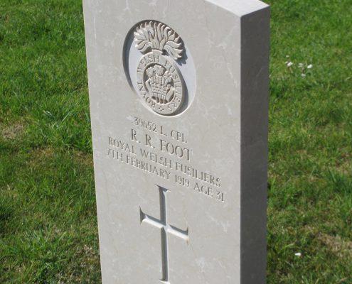 Reginald Robert Foot headstone