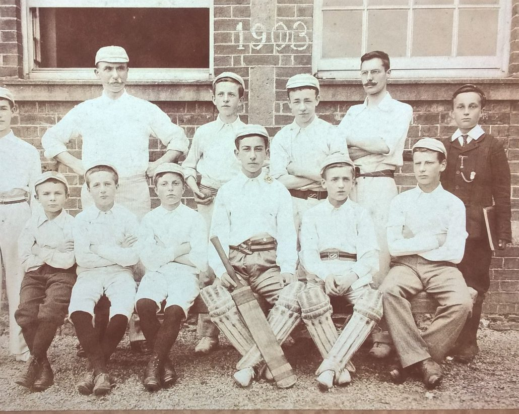 Grammar school cricket team 1903