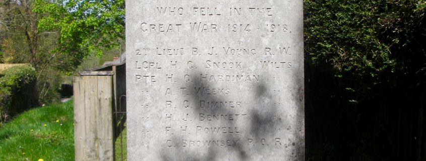 Those Who Fell on Ebbesbourne Wake Memorial
