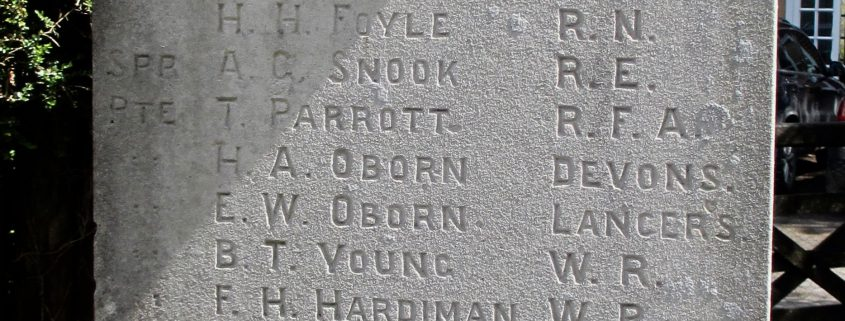 Those Who Served on Ebbesbourne Wake Memorial