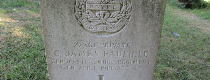 James Padfield headstone