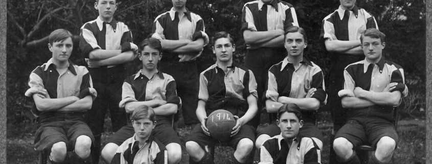 1914 Shaftesbury Grammar School Football Team