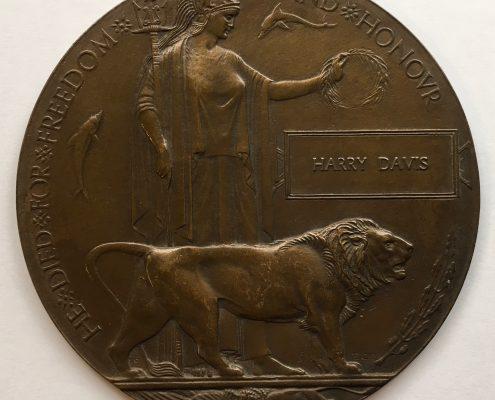 Harry Davis memorial plaque
