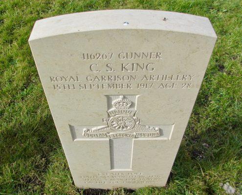 Charles Stephen King headstone 4