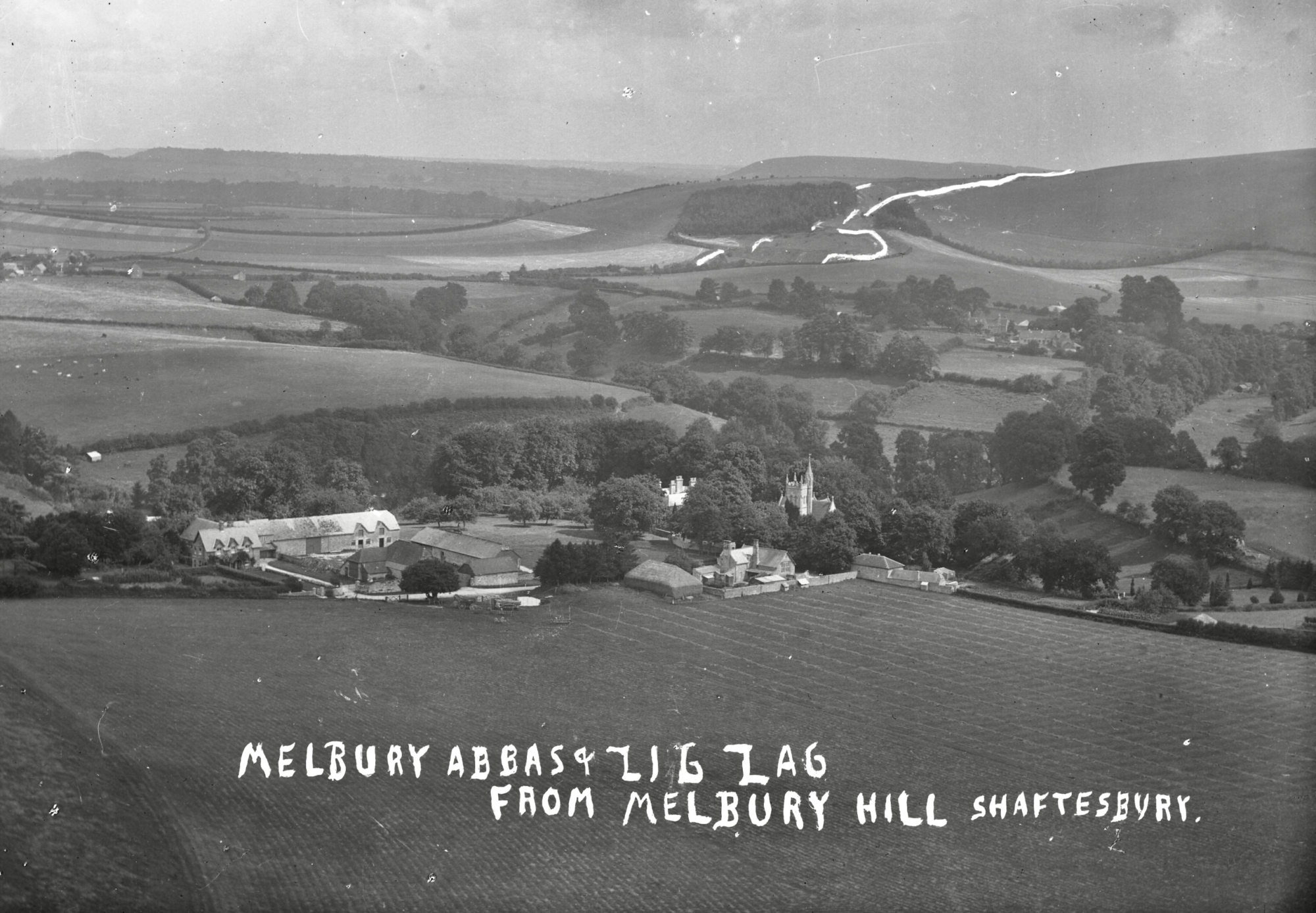 Melbury Abbas and Zig Zag Hill
