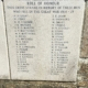 Names on Gillingham War Memorial 1